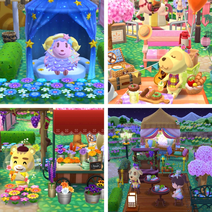 some animal crossing pocket camp screenshots cute animals