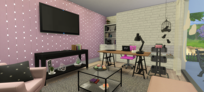 I Designed my Dream Office in The Sims4