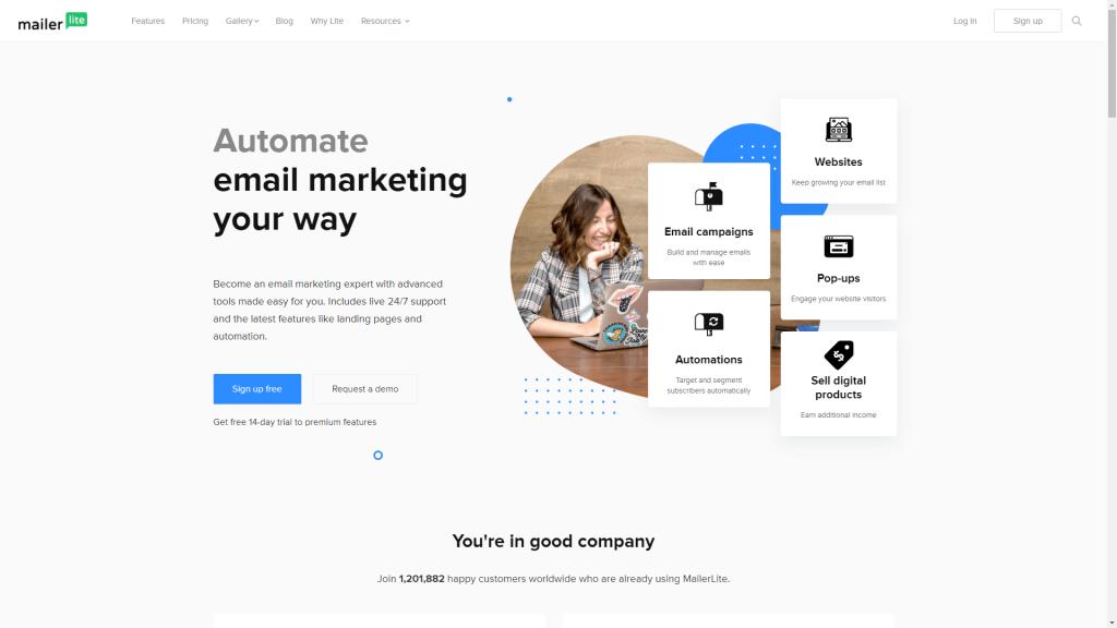email marketing free plan